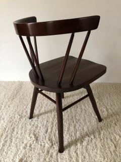 George Nakashima Pair of Walnut Nakashima Style Midcentury Chairs - 1735832