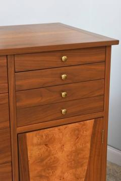 George Nakashima Rare American Modern Walnut and Burl Walnut Highboy George Nakashima - 389398