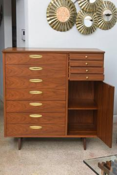 George Nakashima Rare American Modern Walnut and Burl Walnut Highboy George Nakashima - 389401