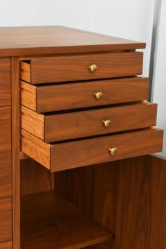 George Nakashima Rare American Modern Walnut and Burl Walnut Highboy George Nakashima - 389403