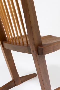 George Nakashima Set of 8 Conoid chairs - 987756