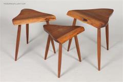 George Nakashima Set of Amoeba Nesting Tables by George Nakashima - 1330506