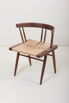 George Nakashima Set of Eight Grass Seated Dining Chairs by George Nakashima - 1134842