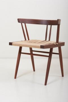 George Nakashima Set of Eight Grass Seated Dining Chairs by George Nakashima - 1134843