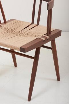 George Nakashima Set of Eight Grass Seated Dining Chairs by George Nakashima - 1134844