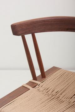 George Nakashima Set of Eight Grass Seated Dining Chairs by George Nakashima - 1134845