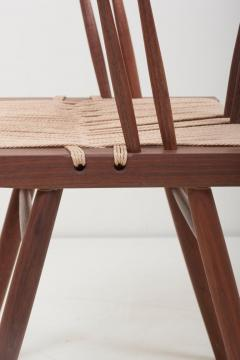 George Nakashima Set of Eight Grass Seated Dining Chairs by George Nakashima - 1134847