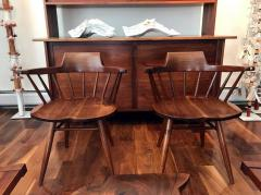 George Nakashima Set of Four Captain Chairs by George Nakashima - 282968
