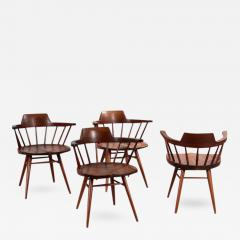 George Nakashima Set of Four Captain Chairs by George Nakashima - 283594