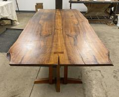 George Nakashima Spectacular 9 ft Frenchmans Cove II Dining Table 1970 - 1343620
