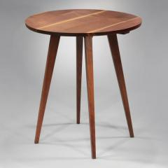 George Nakashima Splayed Leg Round End Table 1945 - 16376