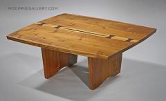 George Nakashima Unique Square Coffee Table by George Nakashima 1973 - 1330654