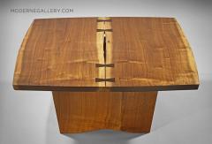 George Nakashima Unique Square Coffee Table by George Nakashima 1973 - 1330656