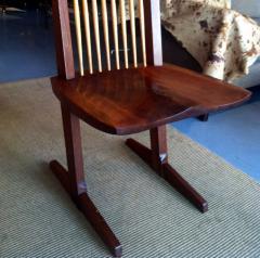 George Nakashima Chairs george nakashima - walnut conoid chairgeorge nakashima