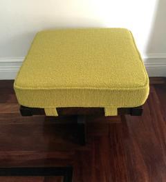 George Nakashima Walnut Greenrock Stool or Bench with Cushion by George Nakashima - 81193