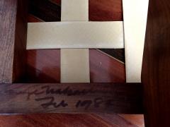 George Nakashima Walnut Greenrock Stool or Bench with Cushion by George Nakashima - 81195