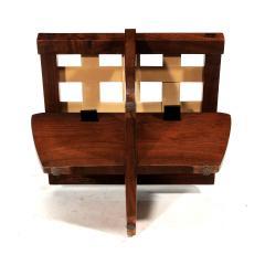 George Nakashima Walnut Greenrock Stool or Bench with Cushion by George Nakashima - 81197
