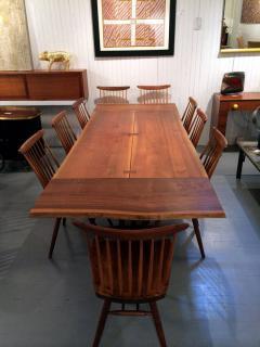 George Nakashima Walnut Rosewood Dining Table Extension George Nakashima    41328
