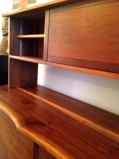 George Nakashima Walnut Sideboard with Top Shelf by George Nakashima - 41076