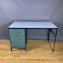 George Nelson 1950s George Nelson Steel Frame Desk Herman Miller - 1681706