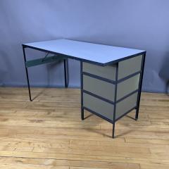 George Nelson 1950s George Nelson Steel Frame Desk Herman Miller - 1681708