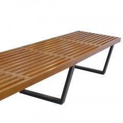 George Nelson Longest Platform Bench by George Nelson for Herman Miller - 240833