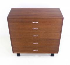 George Nelson Mid Century Modern Walnut Chest Designed by George Nelson for Herman Miller - 1051272