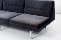 George Nelson Modular Sectional Sofa and Chair by George Nelson for Herman Miller USA 1960s - 1780643
