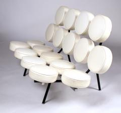 George Nelson Museum Quality Early Marshmallow Sofa by George Nelson for Herman Miller - 963090