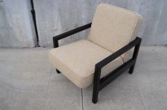 George Nelson Open Arm Ebonized Lounge Chair by George Nelson for Herman Miller - 805056