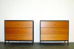 George Nelson Pair of George Nelson Steel Frame Dressers - 355019