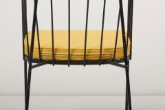 George Nelson Set of Four Iron Rod Outdoor Chairs by George Nelson for Arbuck 1950s - 1134916