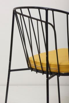 George Nelson Set of Four Iron Rod Outdoor Chairs by George Nelson for Arbuck 1950s - 1134919