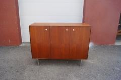 George Nelson Thin Edge Walnut Gentlemans Chest by George Nelson for Herman Miller - 2115629