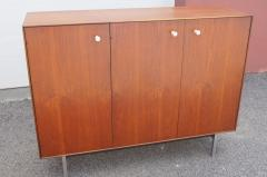 George Nelson Thin Edge Walnut Gentlemans Chest by George Nelson for Herman Miller - 2115637