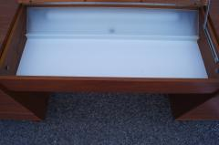 George Nelson Walnut Double Dresser with Vanity by George Nelson for Herman Miller - 2083258