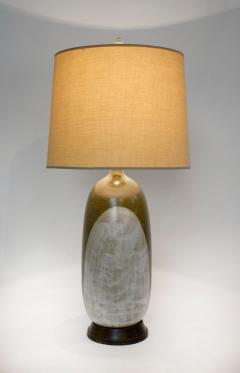George Nobuyuki George Nobuyuki for Sy Allan Designs California Modernist Studio Ceramic Lamp - 1471922