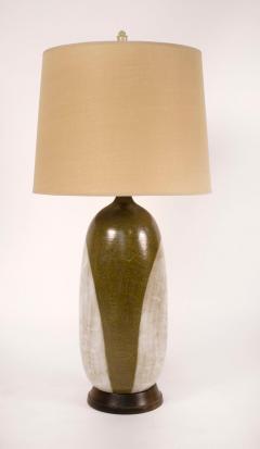 George Nobuyuki George Nobuyuki for Sy Allan Designs California Modernist Studio Ceramic Lamp - 1471923