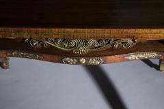 George Oakley 19th Century Regency Rosewood Ormolu Library Table circa 1815 - 1090260