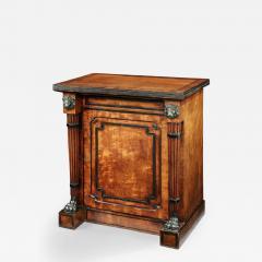 George Oakley Regency Period Mahogany and Ebony Inlaid Cabinet - 1149434
