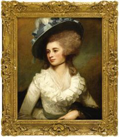 George Romney Portrait of Lady Caroline Price - 288926