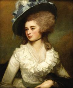 George Romney Portrait of Lady Caroline Price - 288986