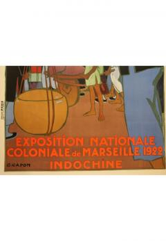 Georges Emile Capon National Colonial Exhibition of Marseille by Georges Capon 1890 1980  - 906808
