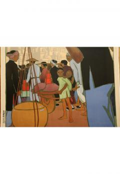 Georges Emile Capon National Colonial Exhibition of Marseille by Georges Capon 1890 1980  - 906810