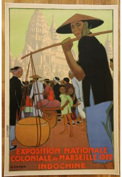 Georges Emile Capon National Colonial Exhibition of Marseille by Georges Capon 1890 1980  - 906812