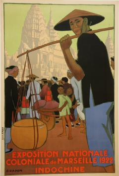 Georges Emile Capon National Colonial Exhibition of Marseille by Georges Capon 1890 1980  - 907023