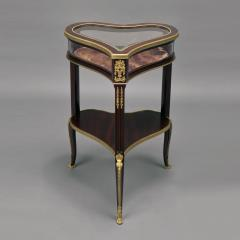 Georges Fran ois Alix A Gilt Bronze Mounted Mahogany Table Vitrine - 1036514