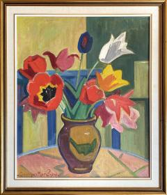 Georges Marchou Poppies and Tulips  - 1938647