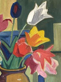 Georges Marchou Poppies and Tulips  - 1938656