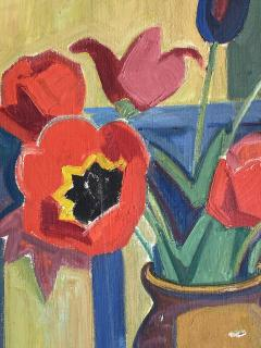Georges Marchou Poppies and Tulips  - 1938657